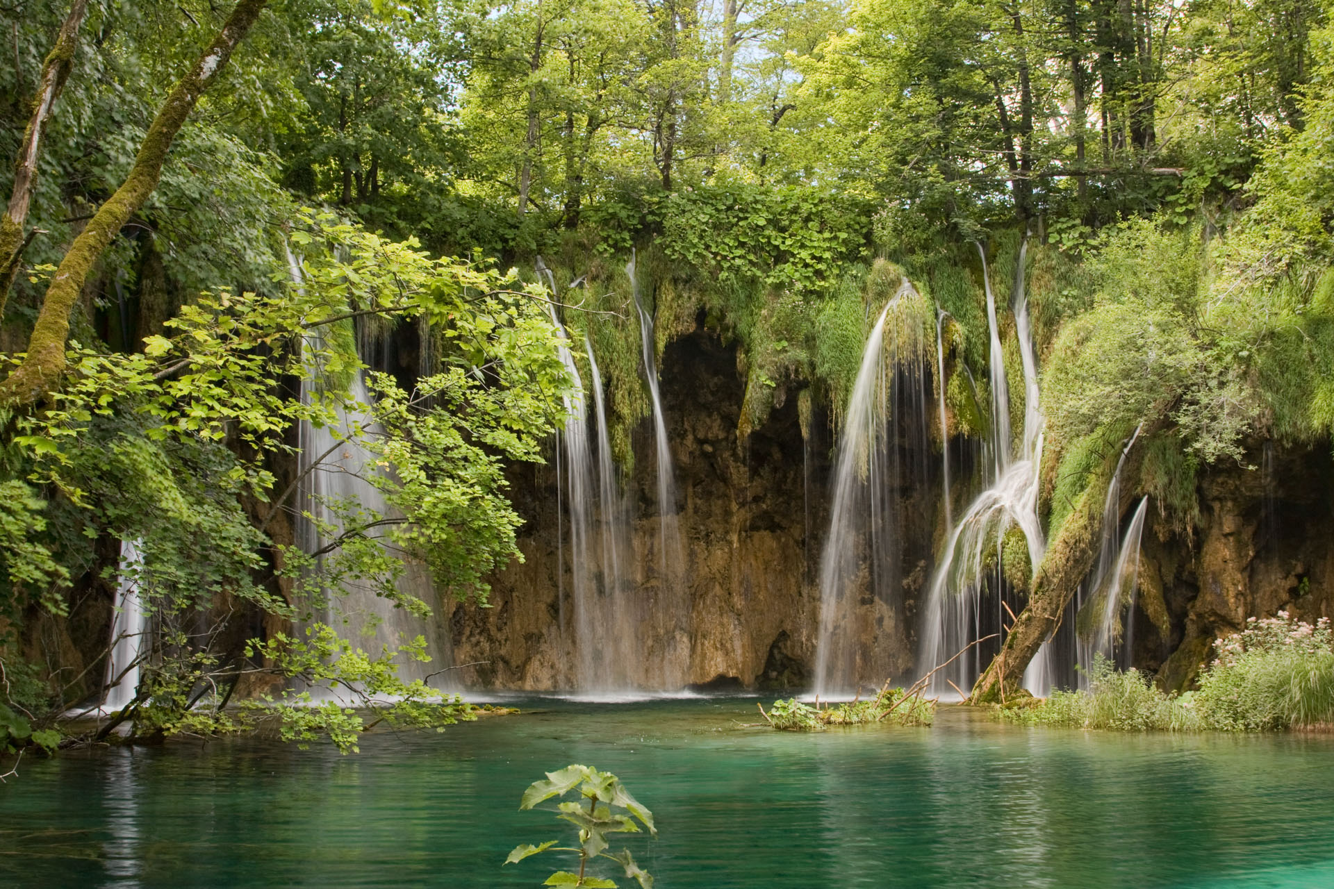 Cascate di Plitvice - Waterfall in Plitvice National Park