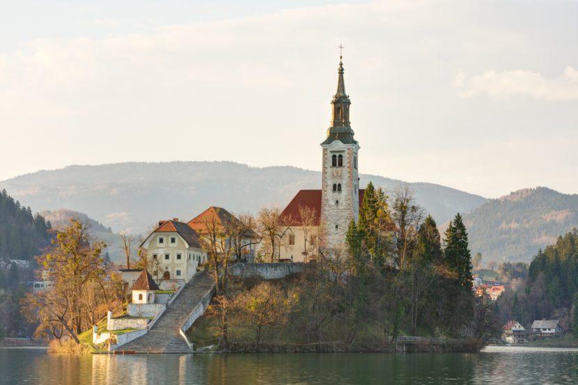 Lago di Bled - Chiesa dell'Assunzione della Vergine