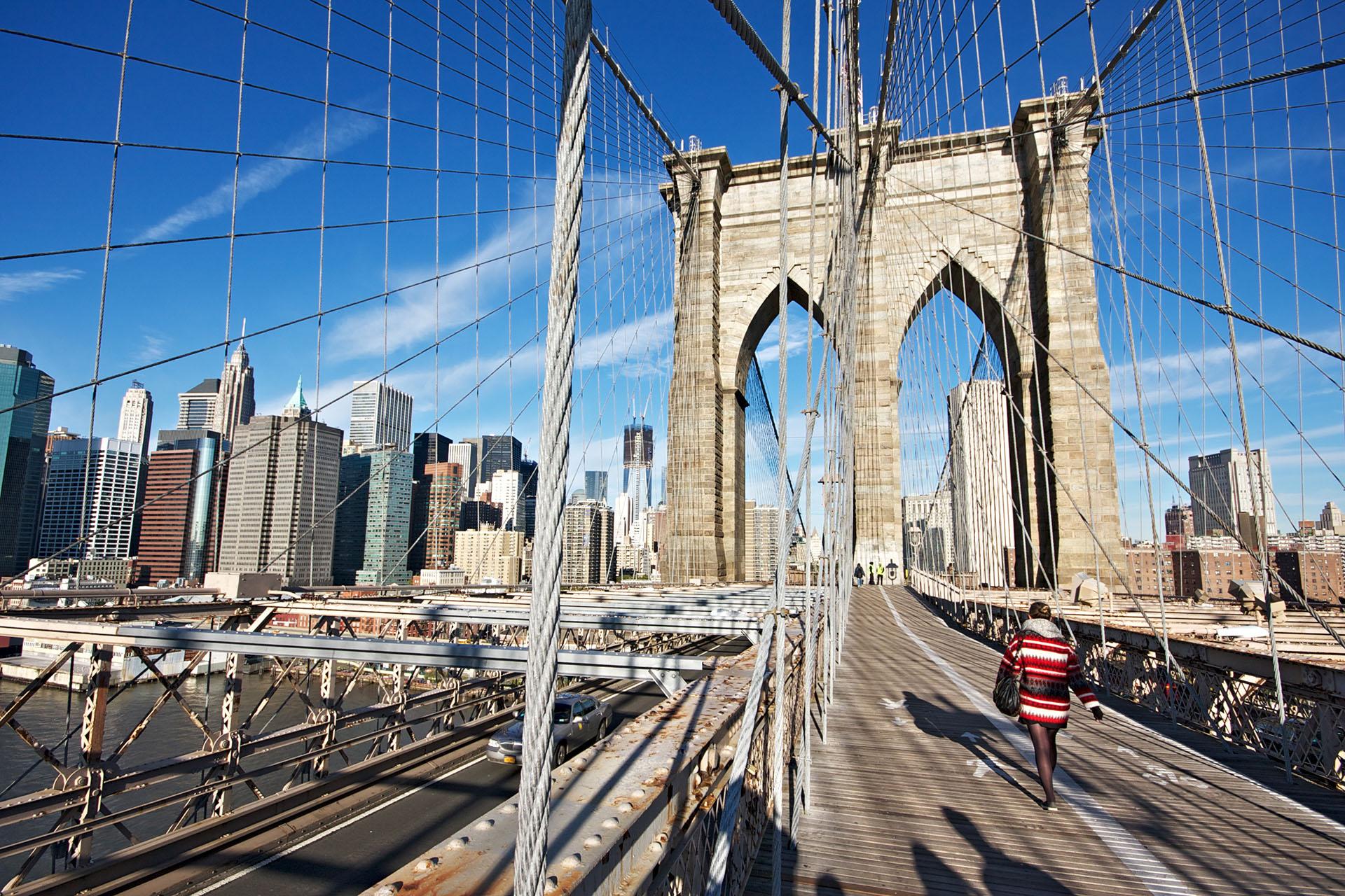 Ponte di Brooklyn - New York