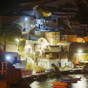 Oia di notte - Santorini