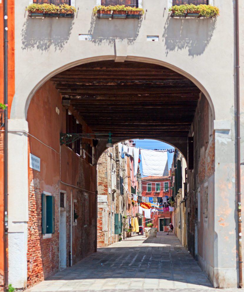 Sottopasso Riva Partigiani - Venezia