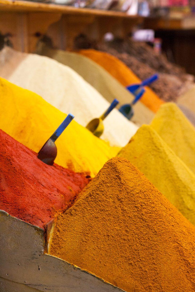 Spezie - souk di Marrakech