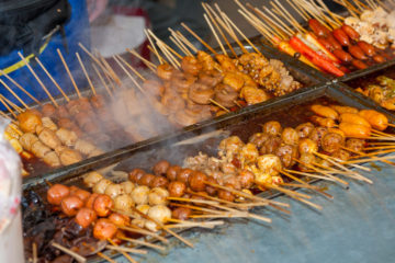 Street food a Pechino