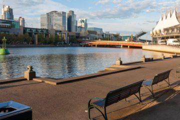 Melbourne - lungo fiume Yarra