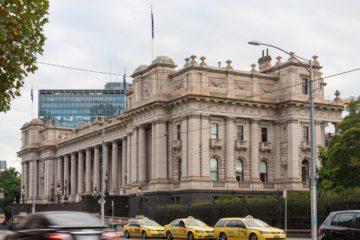 Melbourne: il Parlamento dello Stato di Vittoria