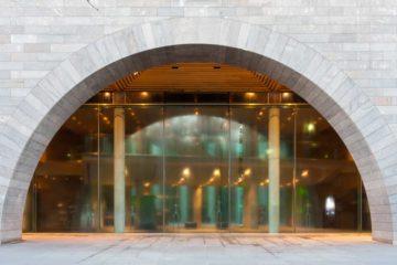 Melbourne: ingresso della National Gallery of Victoria
